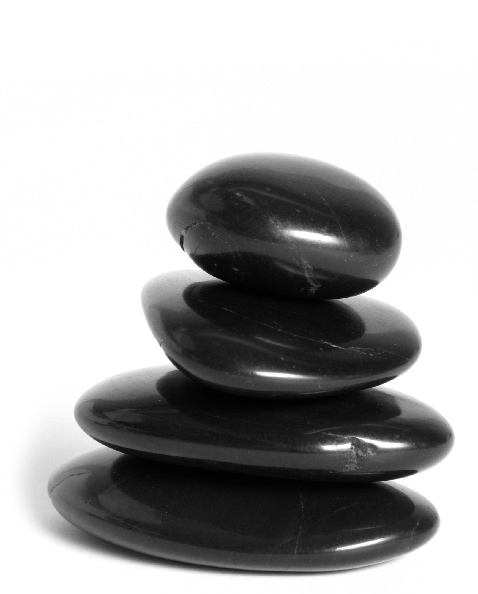 Massage stenen, Hot stones